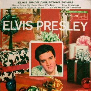 easily the most popular of elvis christmas recordings blue christmas seems to be all over the radio stations every december when elvis recorded it in - Blue Christmas By Elvis Presley